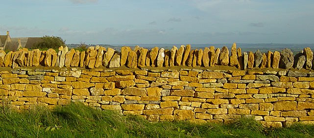 Dry Stone Walling from Stanleys Quarry